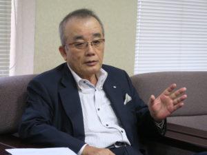 宮崎日日新聞社・町川安久代表取締役社長