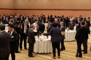 中国四国合同トーハン会の懇親会