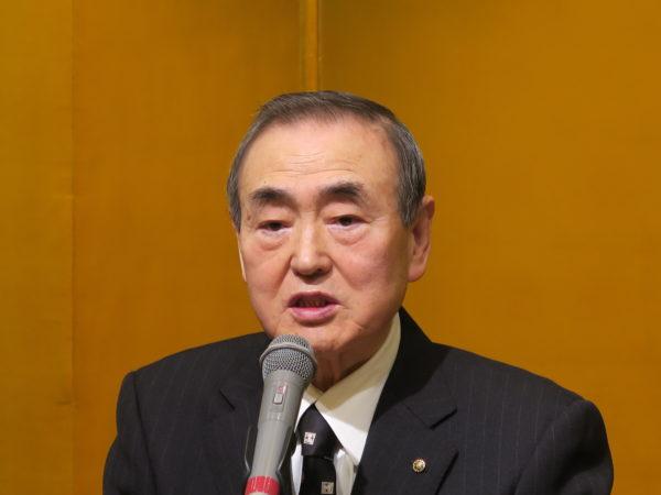塩越隆雄代表取締役会長・主筆