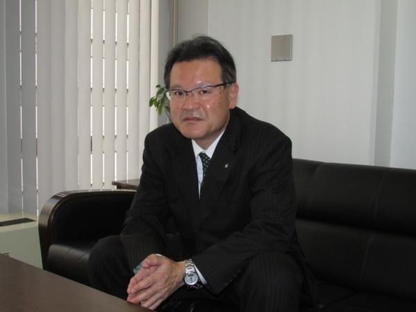 全国地方新聞社大阪支社連盟・竹下修司代表幹事(中国新聞社)