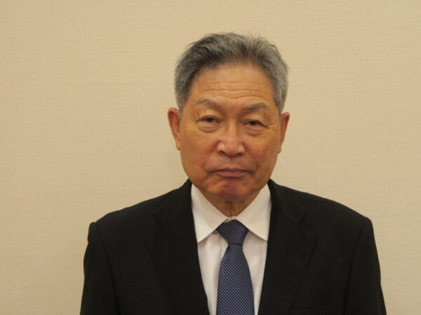 次期会長に内定した深瀬和雄氏