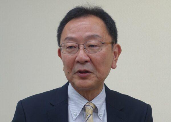日本出版取次協会の会長に就任した平林彰氏(日販GHD)