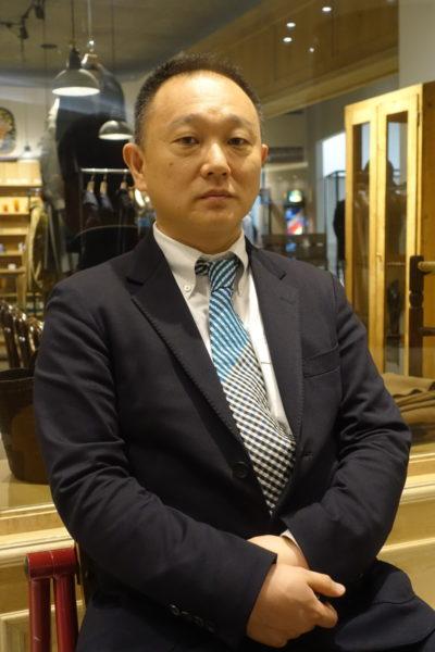 今年9月に有隣堂の社長に就任した松信健太郎氏