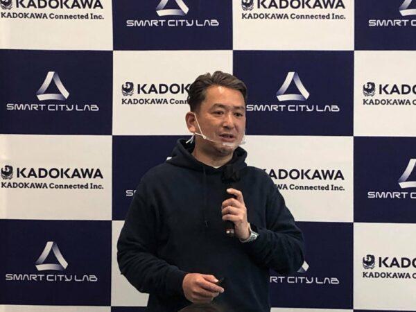 各務茂雄社長(KDX提供)