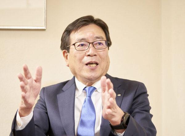 カルビー社長兼CEO・伊藤秀二氏