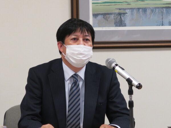 「持続可能な協力体制を築いていくことが重要」と呼びかける石井委員長