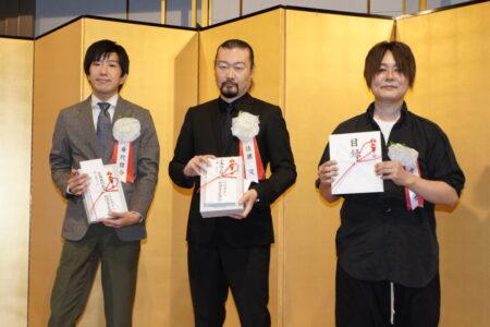 写真左から乗代雄介さん、佐藤究さん、千葉雅也さん