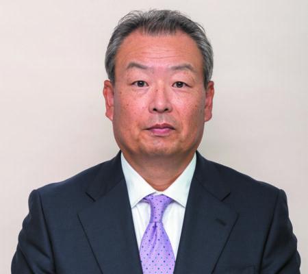 増井一実理事長(朝日オリコミ社長)